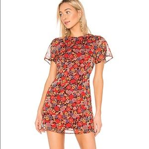 NEW House of Harlow X REVOLVE Lotte Floral Dress